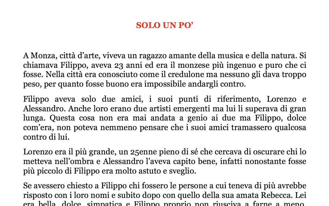 SOLO UN PO' – Mariateresa, 13 anni, Brindisi