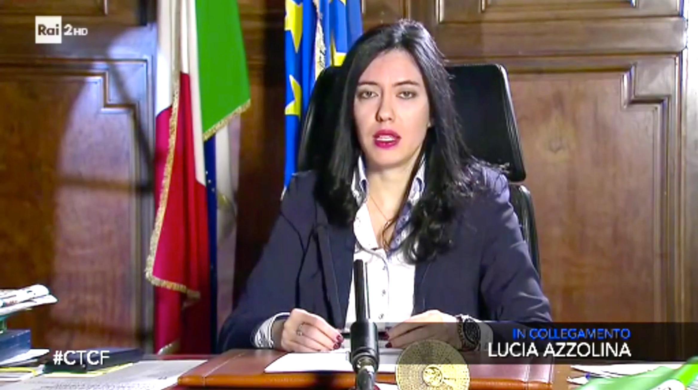 Lucia Azzolina Ministrero Istruzione MIUR