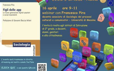 Incontro con il prof. Francesco Pira autore del libro 'Figli delle App'